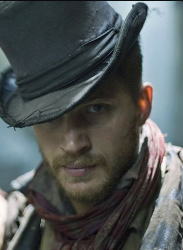 Tom Hardy. Great Hat! ...