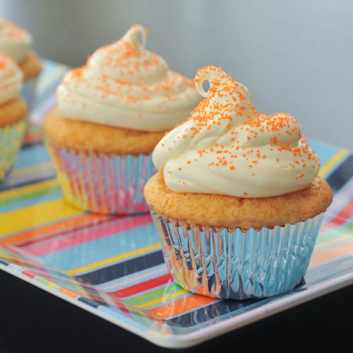 orange creamsicle cupcakes | Keep Calm and CUPCAKE On | Pinterest