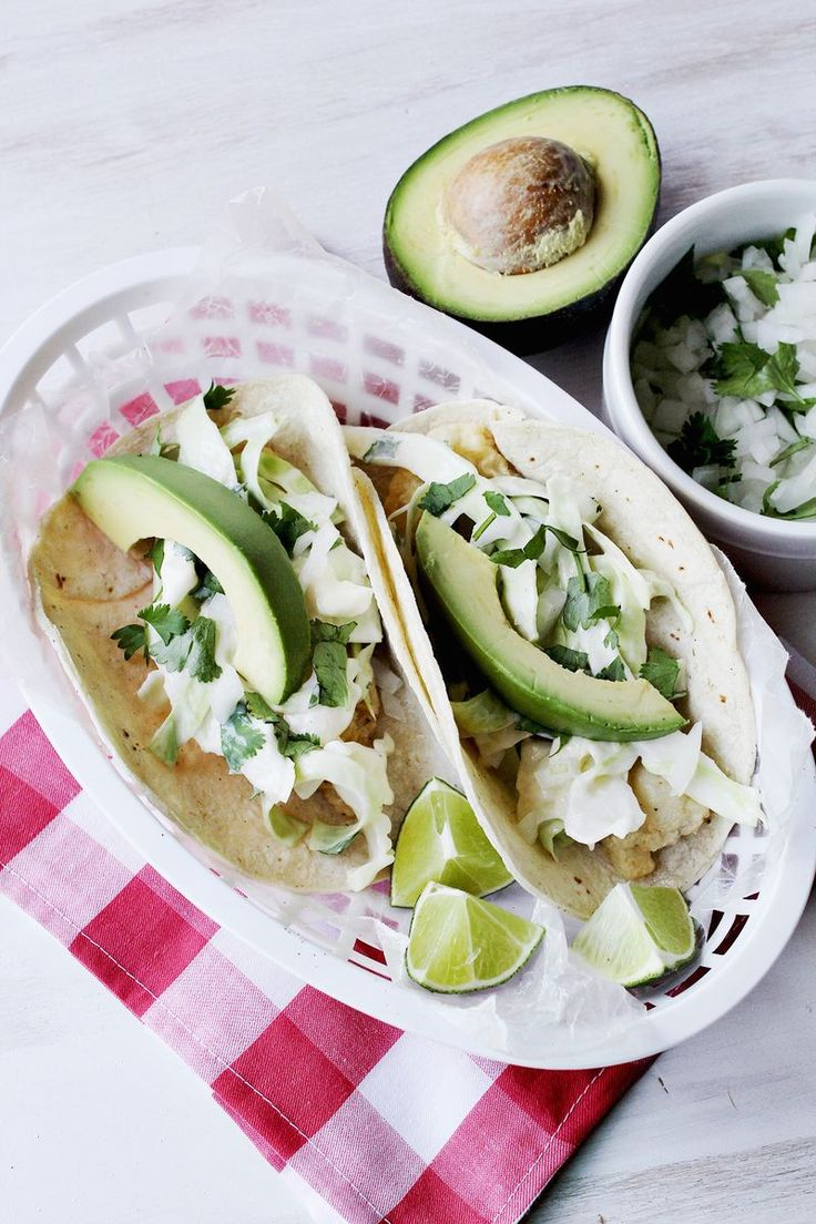 Super simple fish taco recipe - the ones with straightforward flavours ...