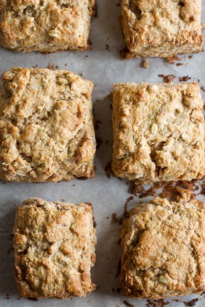 Oat and Maple Syrup Scones by Smells Like Home