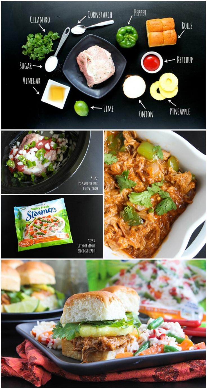 Slow Cooker Sweet & Sour Pork Sliders | Recipe