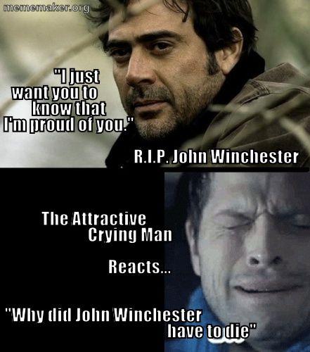 John Winchester Supernatural Pinterest