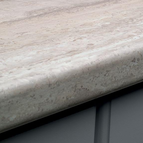Countertop Edge Options Laminate : Contemporary- Futura- Double Radius Edge Kitchen Pinterest