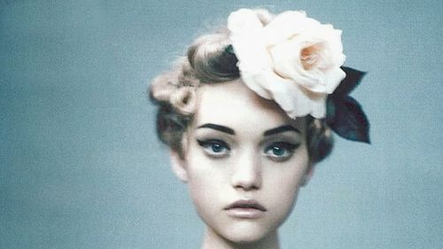 Fashion,Flower,Gemma ward,Model,