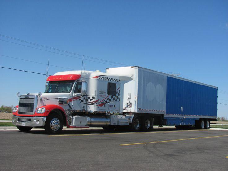 Freightliner Coronado Custom Sleeper