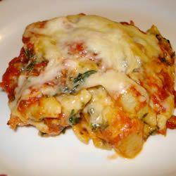 Cheryl's Spinach Cheesy Pasta Casserole | Pasta | Pinterest