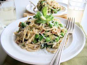 Spaghetti Alla Carbonara With Peas Recipes — Dishmaps
