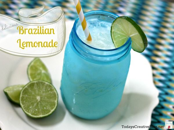 Brazilian Lemonade {refreshing & delicious} - Todays Creative Blog