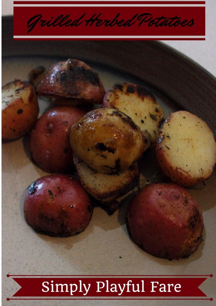 Grilled Herbed Potatoes | Grilled Recipes | Pinterest