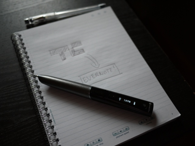 Livescribe smartpen with wifi and evernote integration