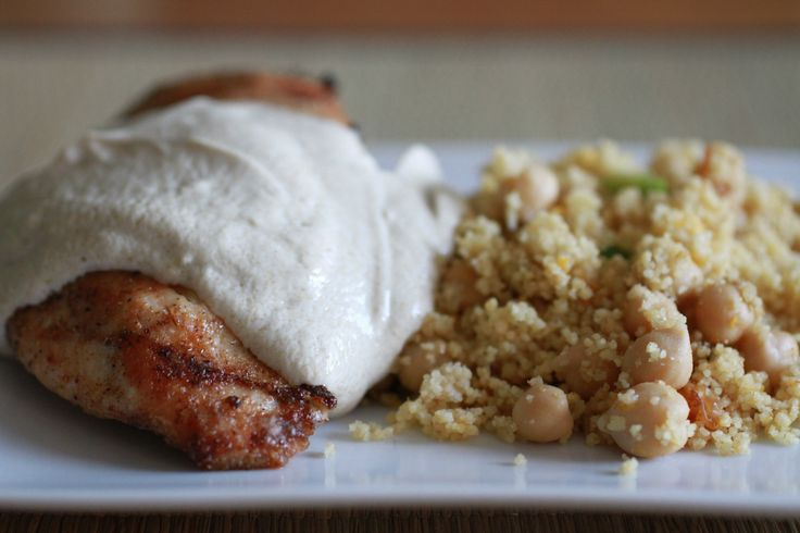 Cardamom Chicken with Chickpeas and Orange Couscous | WeeklyGreens.com