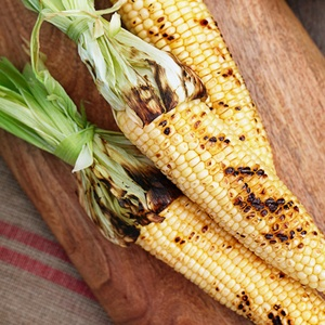 Grilled Corn on the Cob with Ancho Chili-Lime Butter