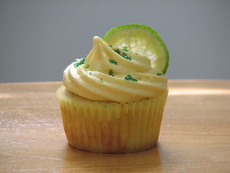 lime cupcake with a mango buttercream all things cupcake