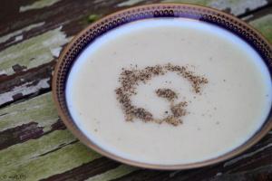 Inspired by Paul Bertolli's super simple cauliflower soup recipe, I ...