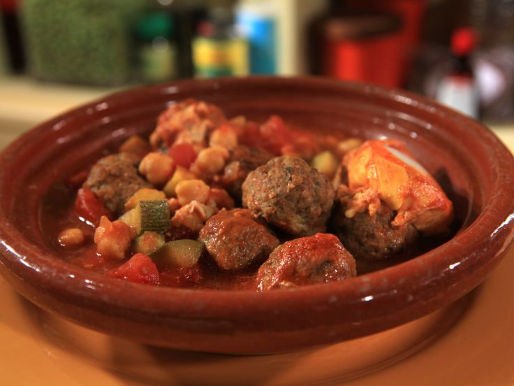 Moroccan Meatballs with Eggs Recipe : Rachael Ray : Food Network ...