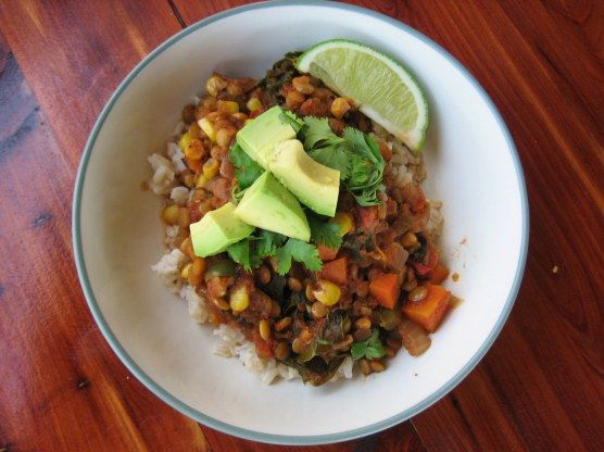 Lentil chili | Recipes I Want In My Belly | Pinterest
