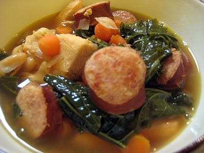 ... kale and white bean soup quick sausage white bean and spinach stew
