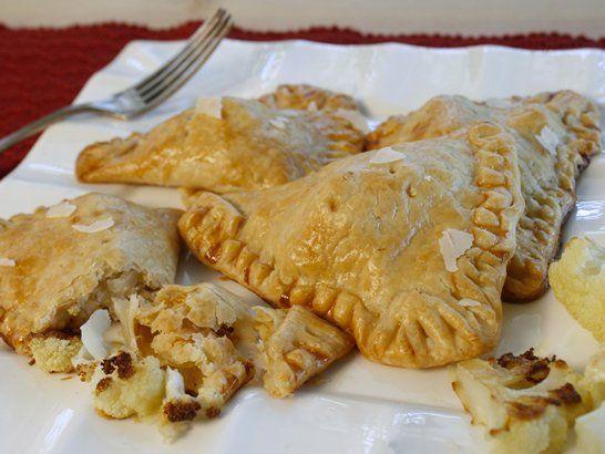 Cauliflower and Parmesan Cheese Empanadas - Que Rica Vida
