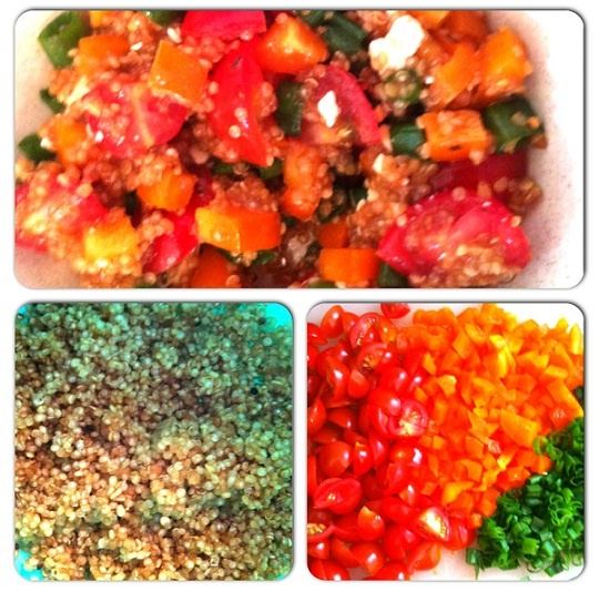Simple quinoa salad   Recipes: Simple Cooking   Pinterest