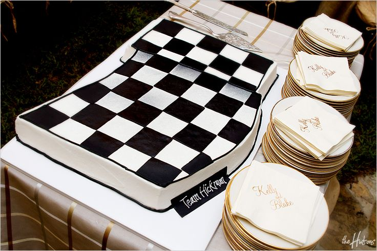 Cake Decorating Checkered Flag : Checkered flag groom s cake! - Photo by Jeremy roy bday ...