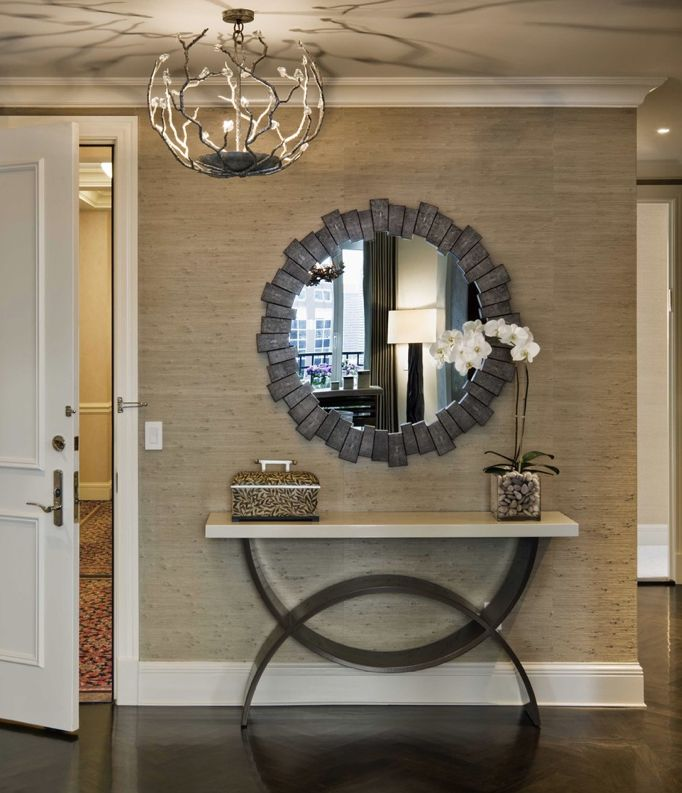 Decorating With Grasscloth Wallpaper: Grasscloth Wallpaper, Love The Color.