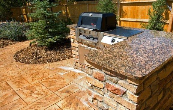 Outdoor Granite Countertops Outdoor Kitchen American Design ...