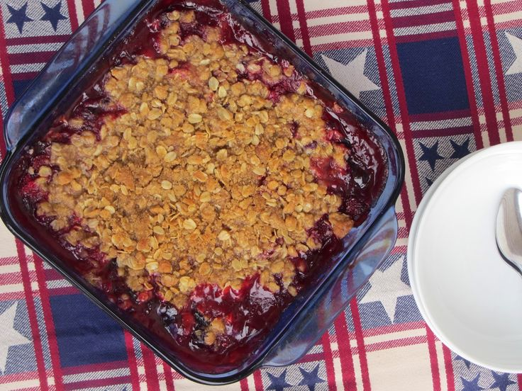 Been There Baked That: Berry Fruit Crisp | Fruit Cravings | Pinterest
