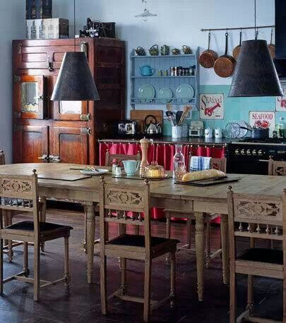 Bohemian Kitchen Home Sweet Home Pinterest