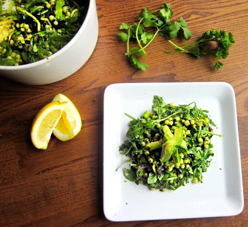 Green Israeli Cous Cous Salad | Salads | Pinterest