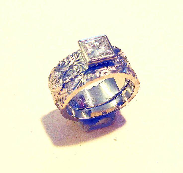 Cowgirl Weding Rings 031 - Cowgirl Weding Rings