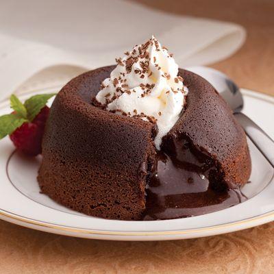 See's Candies Extra Dark Molten Mocha Dessert - I substitute the mocha ...
