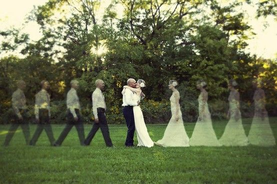Unique wedding shots