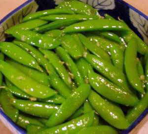 Fit Food: Sugar Snap Peas in Shallot Butter - Sugar snap peas have ...