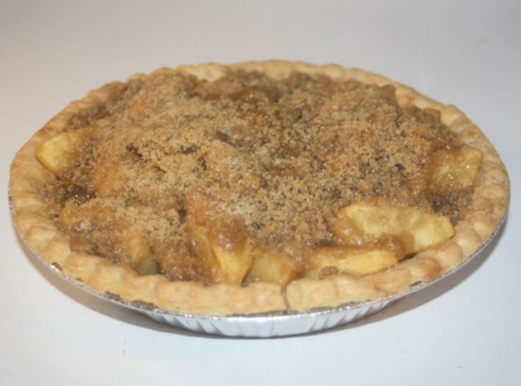 Ghee's Old Fashioned Apple Pie- With super scrumptious crunchy topping ...