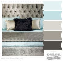 Pretty Aqua, teal, greyish brown color scheme - love this colour scheme