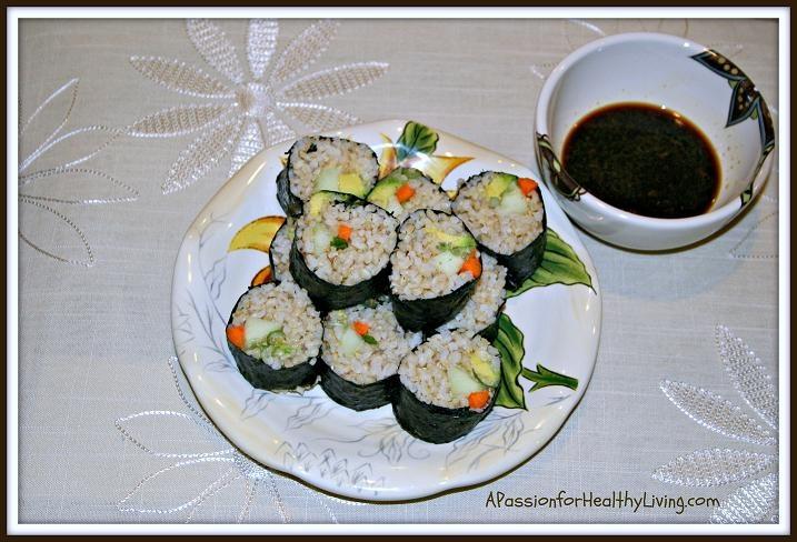 Vegetarian Seaweed Rolls Anyone? | Food, Food & More Food | Pinterest