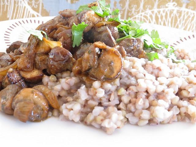 mushroom stroganoff | Real Food-Sides/Meatless | Pinterest
