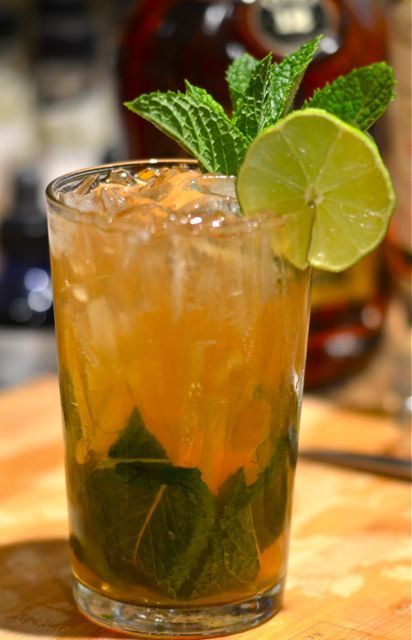 The Queen's Park Swizzle | Alcohol Drinks | Pinterest