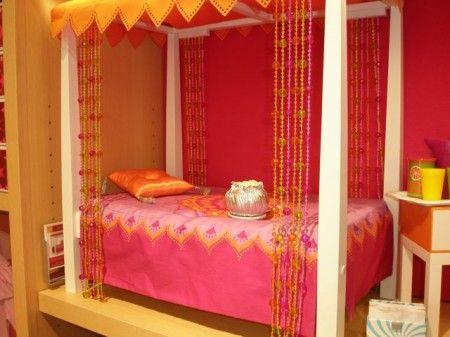 orange and hot pink bedroom k c bedroom pinterest