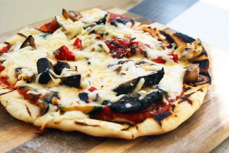 grilled veggie pizza dough recipe