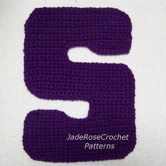 Crochet Letters Patterns - S