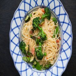 Classic Pasta Primavera - Added Chicken Breast to this and used frozen ...