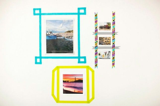 10 creatieve muurdecoratie-ideeën  Living a dream  Pinterest