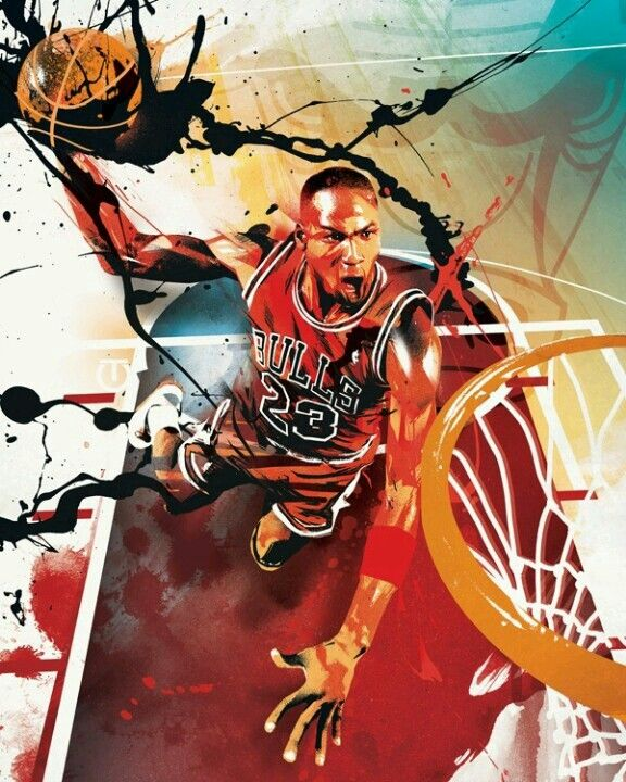 Michael Jordan art