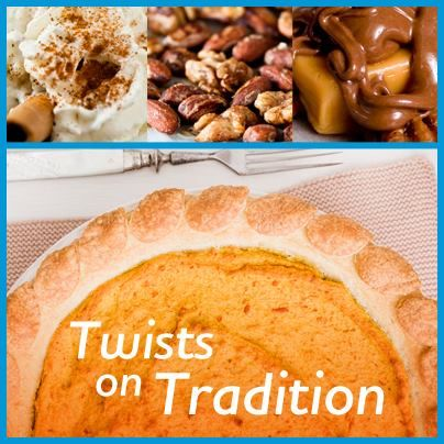 Pumpkin Pie with Brown Sugar-Walnut Topping | Recipe