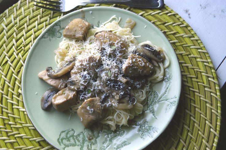 Chicken & Mushroom Marsala Pasta | Other recipes | Pinterest