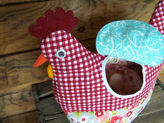 Knitting Patterns For Tea Cosy Chicken : Chicken Tea Cozy PDF Sewing pattern - muffin cozy, cookie ...