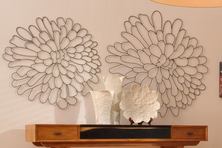 Metal Flower Wall Art Creative Ideas Pinterest