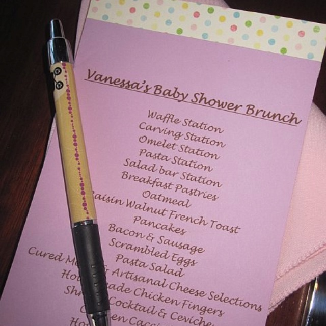 baby shower food ideas baby shower menu ideas for a girl