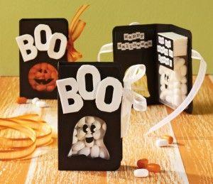 DIY Halloween Boo Treats